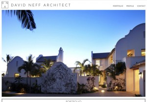 website for an architect